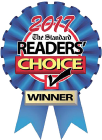 2017 Readers' Choice Winner